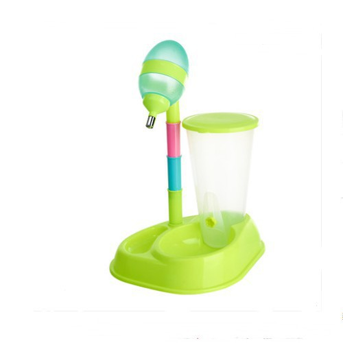 寵物自動飲水機 水壺掛式節節高餵食/可開超取