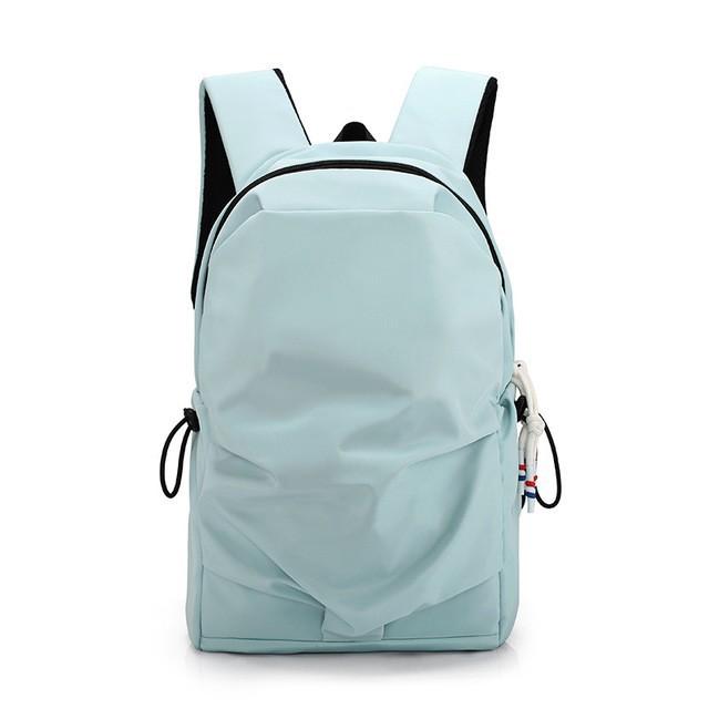 休閑雙肩包男女韓版大容量尼龍旅行運動雙肩包個性百搭學生書包/可開超取