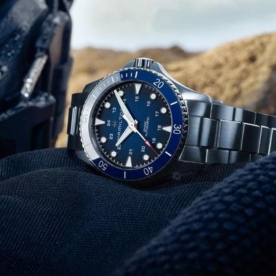 Hamilton Khaki 海軍系列陶瓷錶圈300米機械錶(H82505140)43mm