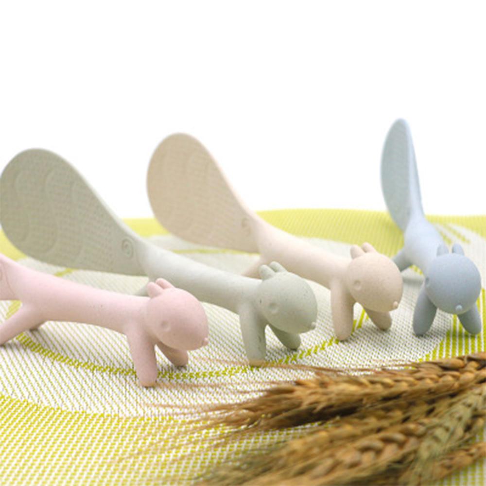 可愛動物造型飯勺-混色 (贈品)