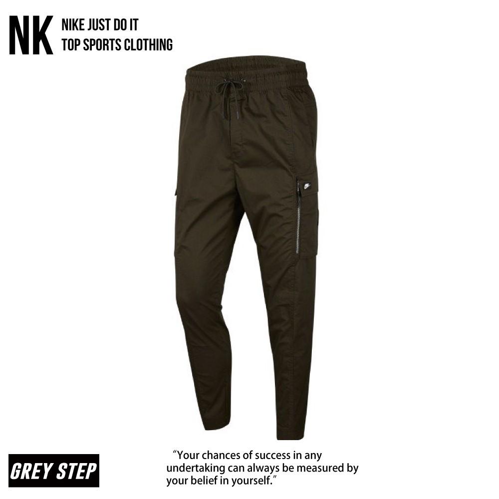 Nike 工作褲 長褲 工裝長褲 休閒長褲 軍綠 六口袋 CV9301-355 全新正品 快速出貨 統一發票
