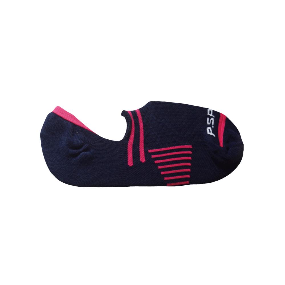 貝柔0束痕輕量足弓隱形襪套(女)-深藍(1雙)