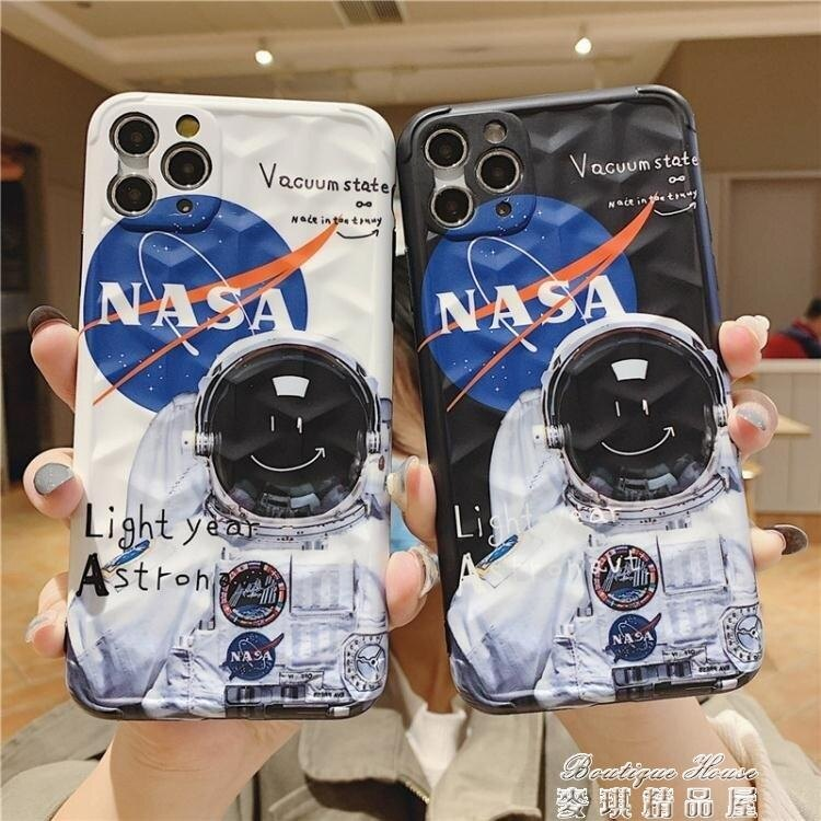 手機殼丨NASA宇航員蘋果11手機殼男iphone11Promax潮牌全包攝像頭 【全館免運】