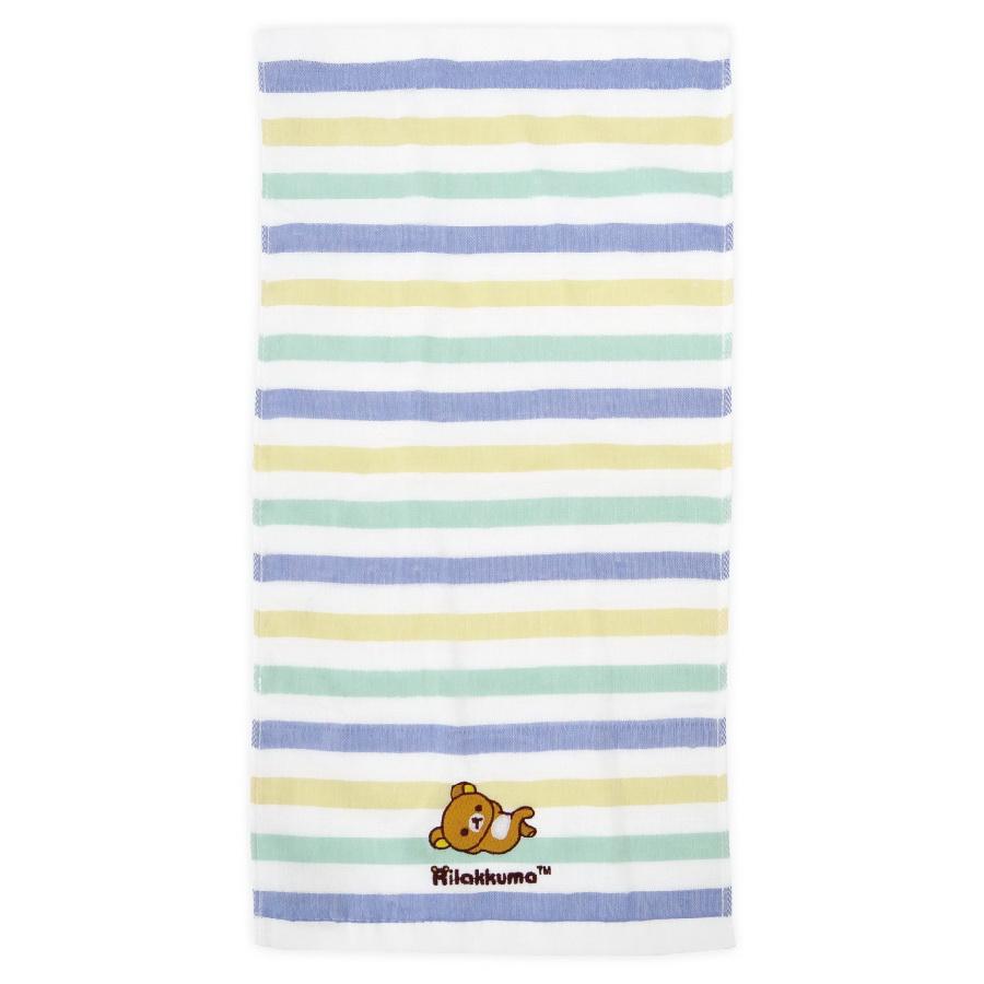 拉拉熊紗布刺繡童巾