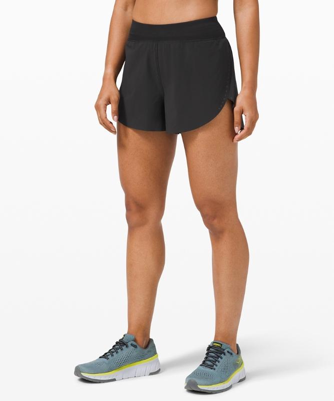 "Lululemon Women's Find Your Pace Short 3"", Black Size 2"