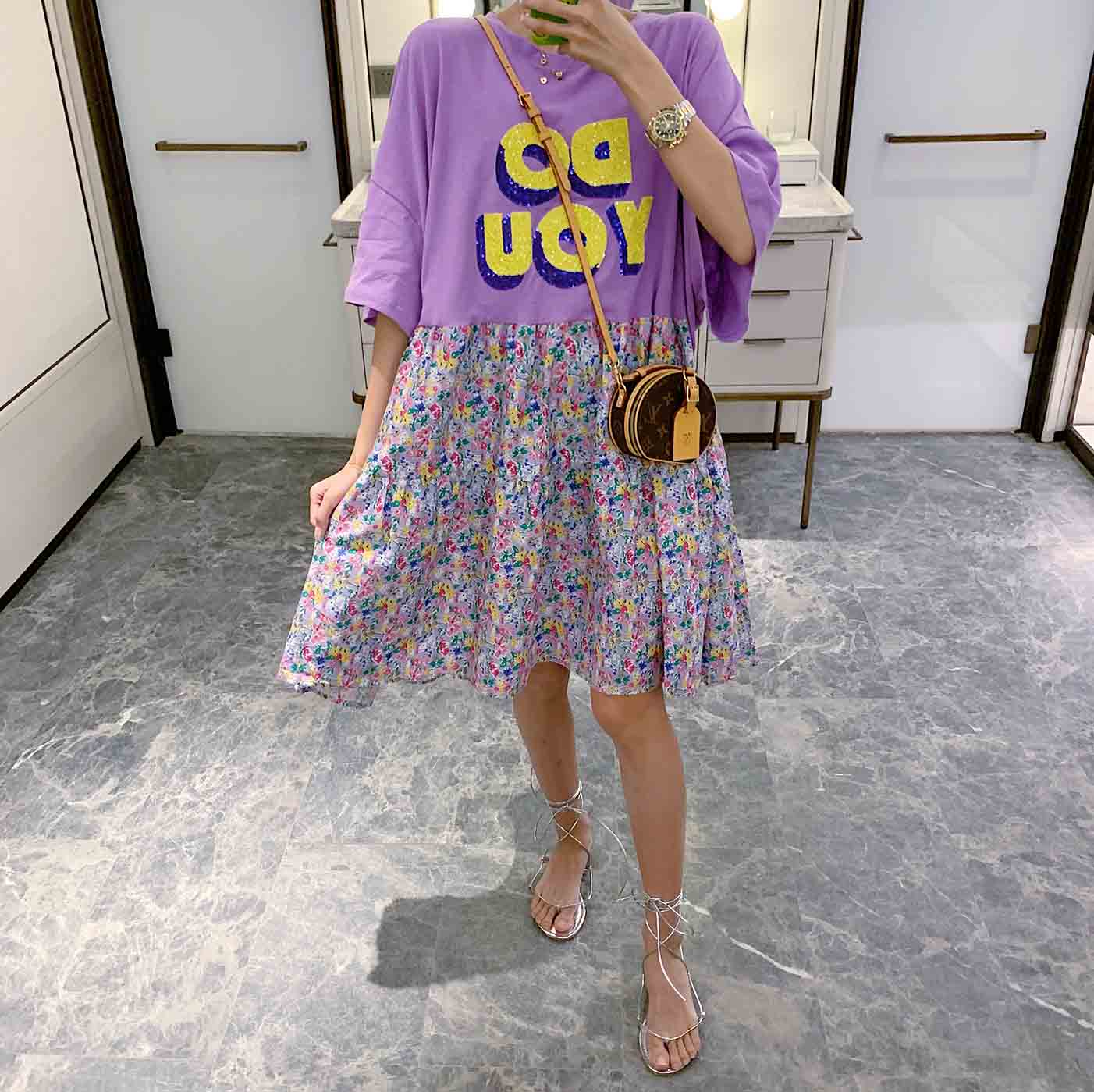 【missy shop】韓國東大門 紫織之歌洋裝-1758LYQ