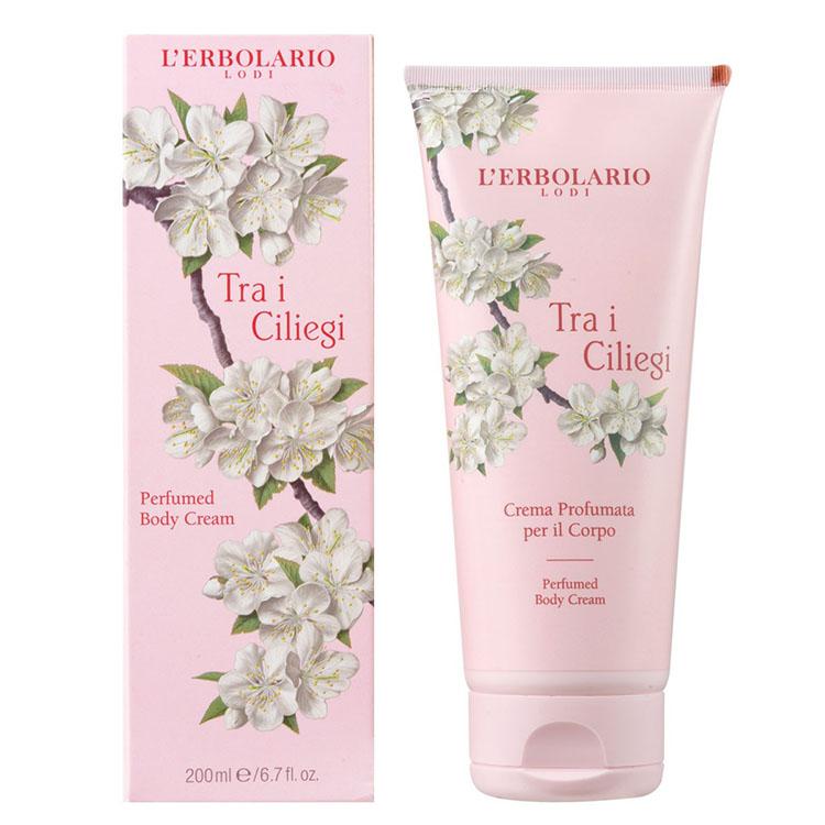 L'ERBOLARIO蕾莉歐-櫻花樹保濕潤膚霜200ml _廠商直送