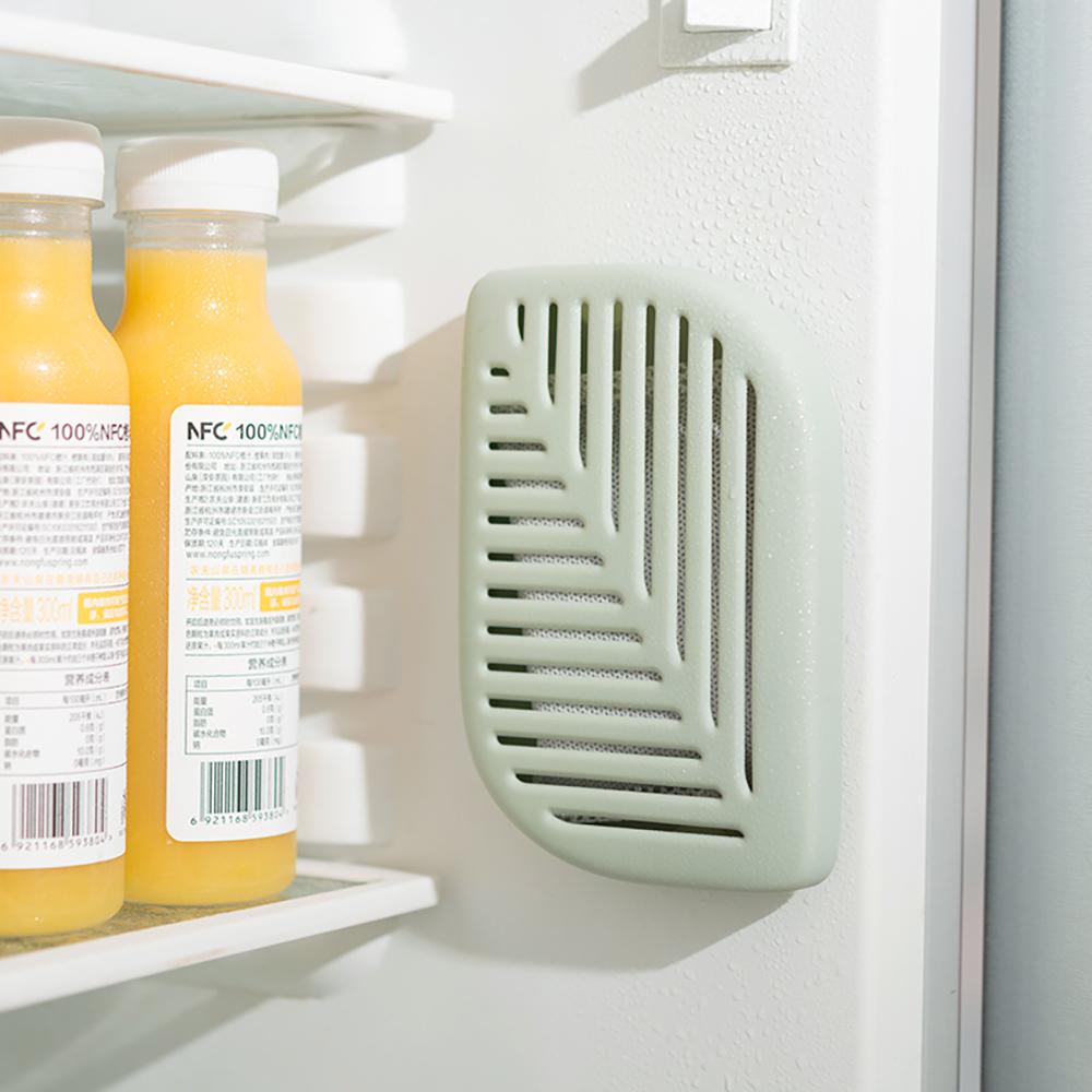 *葉子冰箱除味盒-綠