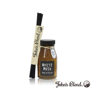 John's Blend室內香氛擴香瓶-配方升級版(140ml)白麝香