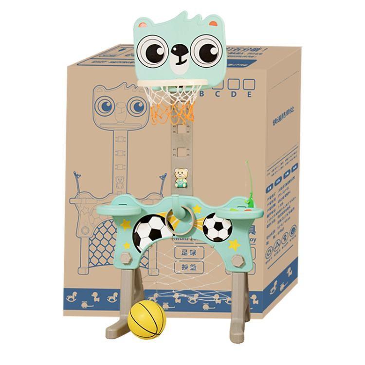 寶寶兒童籃球架可升降室內2-5歲好玩投籃框落地式男孩家用玩具/可開超取