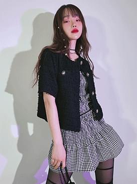 韓國空運 - Lovely tweed jacket 夾克