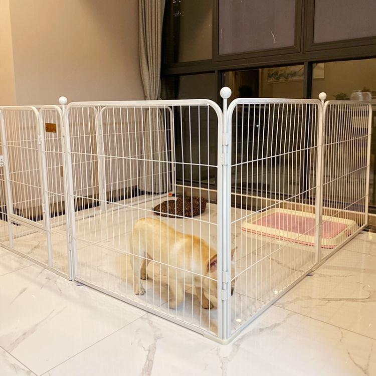 狗圍欄泰迪室內小型犬中型犬金毛大型犬狗狗籠子小狗寵物兔子柵欄【免運】