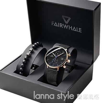 馬克華菲手錶男士學生潮流石英正品2020新款瑞士名牌機械 全館新品85折