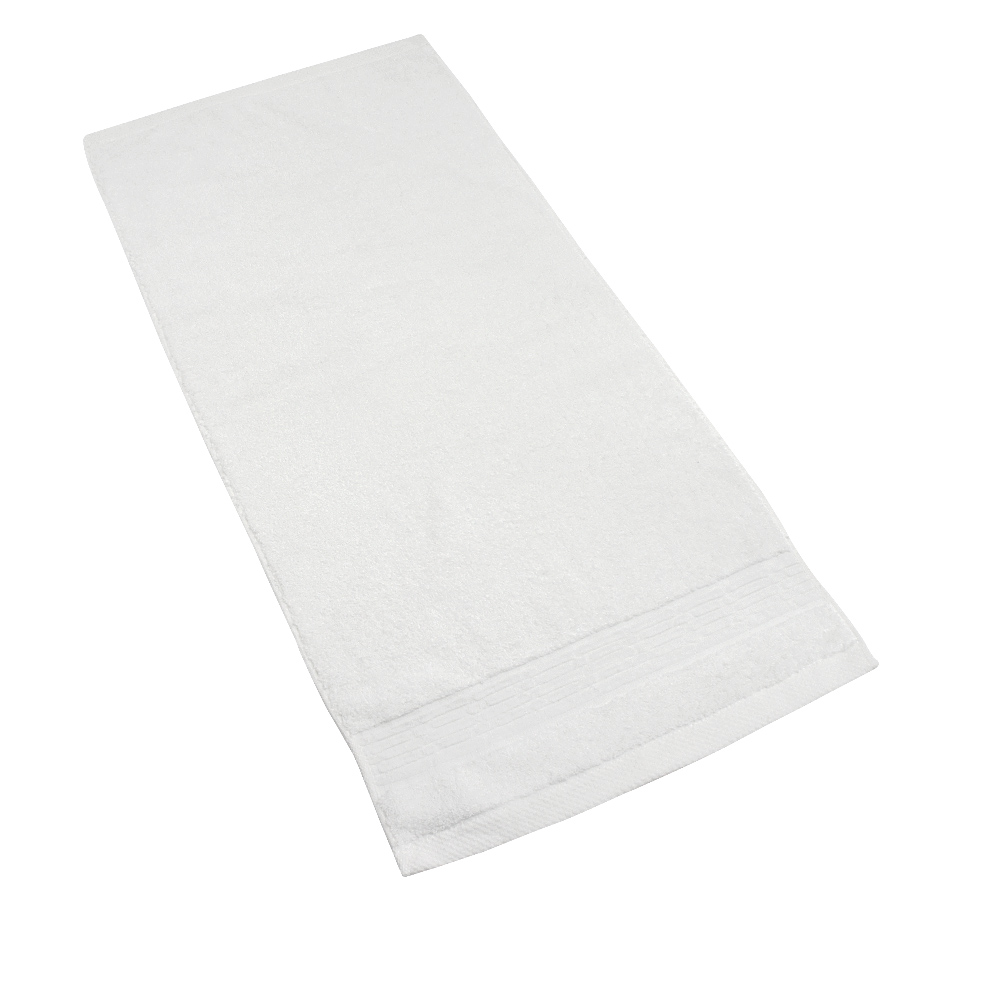 MORINO美國棉五星級毛巾-白色