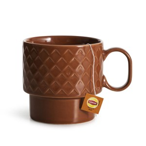 Sagaform Coffee & More 茶杯400ml-陶磚紅
