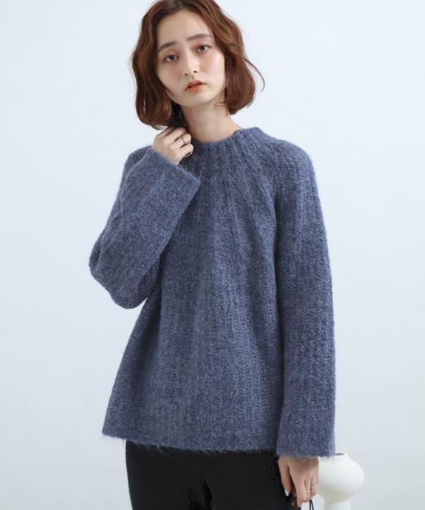 仿馬海毛質感毛衣(AA07-22L140)