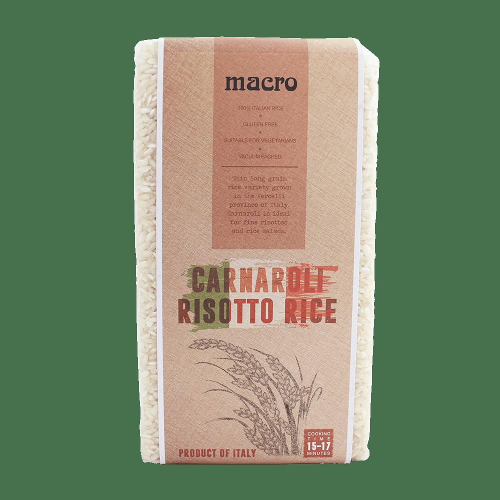 義大利Macro卡納羅利米 Macro Carnaroli Risotto Rice 1KG