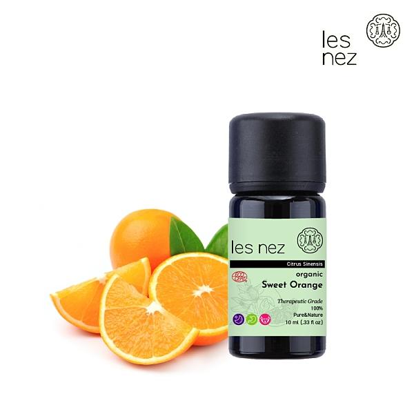 【Les nez 香鼻子】100%天然有機甜橙精油 10ML