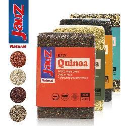 JAUZ喬斯 紅藜麥+白藜麥+黑藜麥+三色藜麥QUINOA 4包(各350公克)
