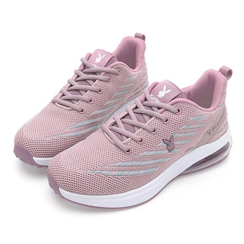 PLAYBOY Candy Bubble Plus 輕量氣墊休閒鞋-粉紫(Y7235)