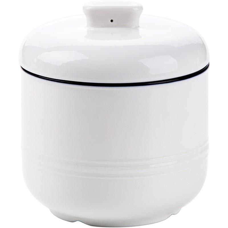 陶瓷燉鍋 家用帶蓋煲湯小號燉盅蒸蛋燉罐燉燕窩盅/可開超取