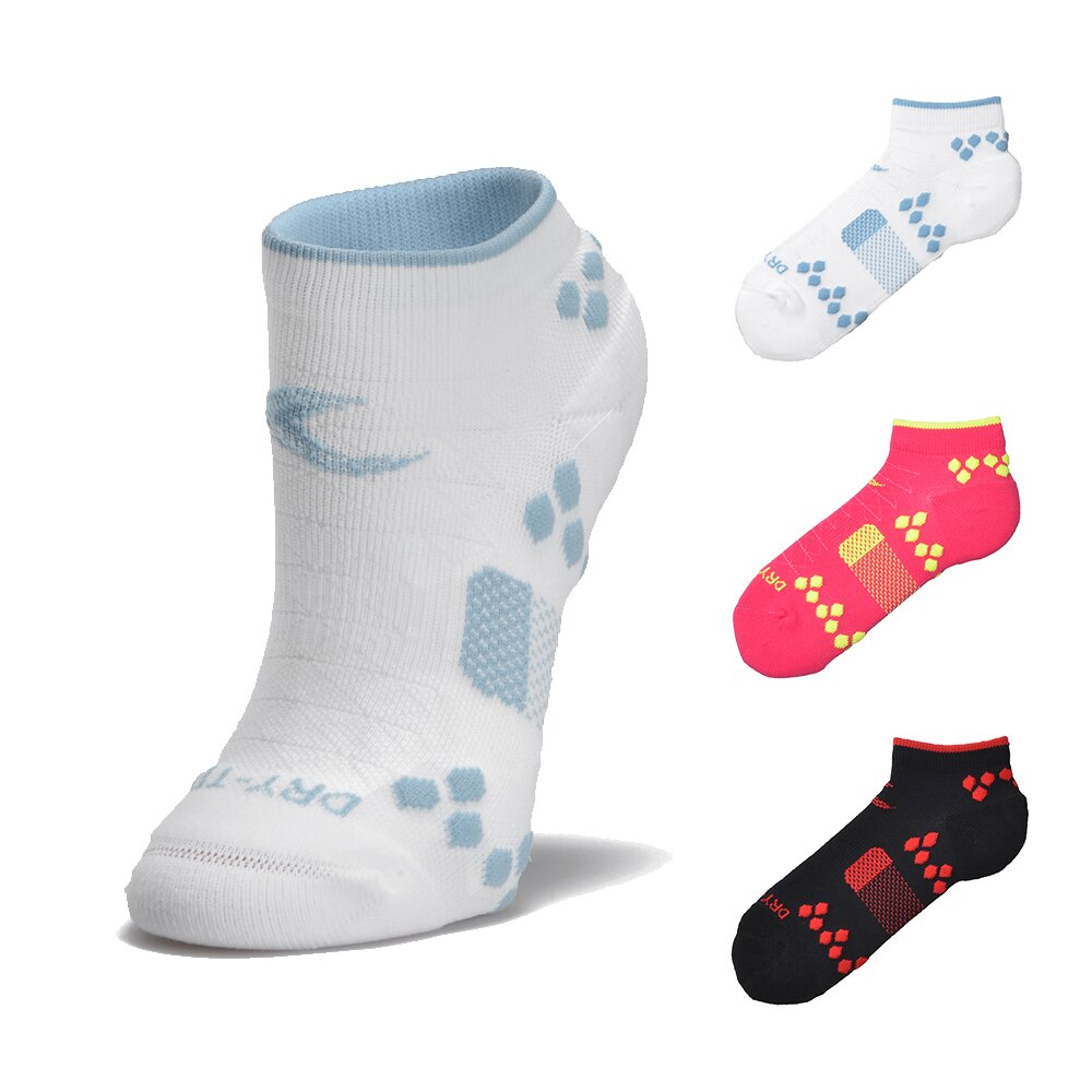 LOOPAL 二代踝襪 女款踝襪 慢跑襪 路跑襪 運動襪 台灣製 精梳棉毛巾底 21-24cm
