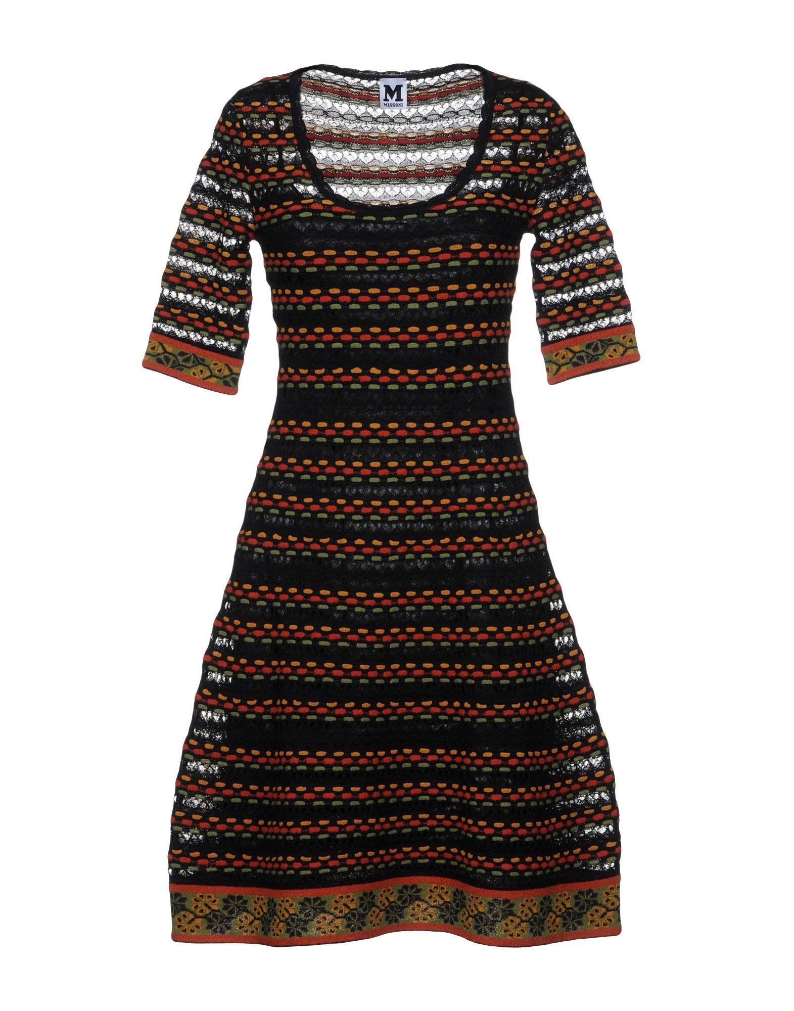 M MISSONI Short dresses - Item 34829156