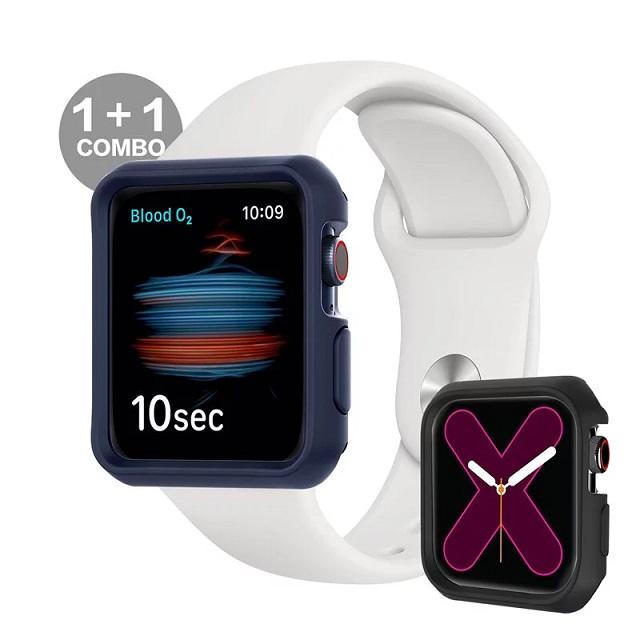 ITSKINS Apple Watch SE/6/5/4 (44mm) SPECTRUM SOLID-防摔保護殼(藍)