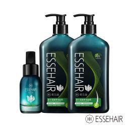 ESSEHAIR 易生絲-原汁森眉草洗髮精x2+森眉草養髮精華
