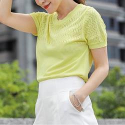 CLARE日本空調冰紗精品針織上衣