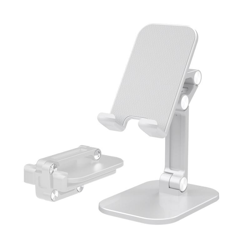 摺疊式 S5 手機平板桌面支架 白
