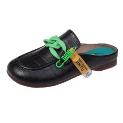 【Taroko】玩色個性低跟休閒穆勒鞋(4色可選)