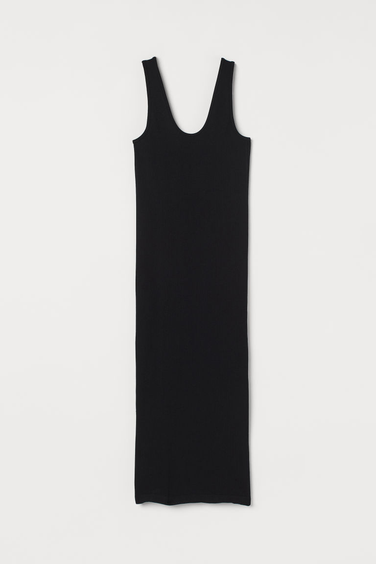 H & M - 無痕洋裝 - 黑色