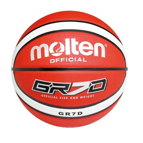molten|室外橡膠12片貼籃球 (7號球)