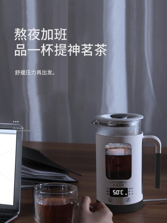 養生壺迷你小容量多功能玻璃煮花茶杯煮茶器電熱燒水壺 NMS 黛尼時尚精品