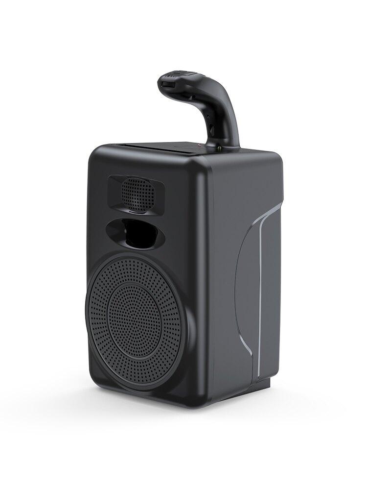 諾必行藍牙音箱大音量戶外廣場舞音響家用超重低音炮便攜式微信收款播放器迷你無線小型影響3d環繞大功率車載