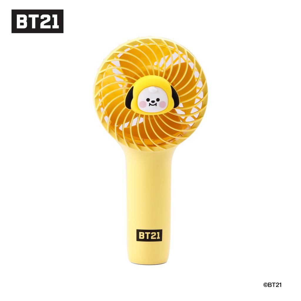 BT21 MINI HANDY FAN 攜帶式手風扇-CHIMMY[ 現貨 ]