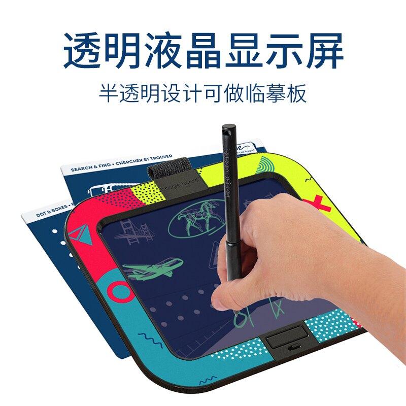 boogie board液晶手寫板兒童便攜電子筆記本新款手寫畫板