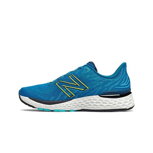 【NEW BALANCE】Fresh Foam 中底 慢跑鞋 輕量 透氣 海浪藍 數碼天藍 男鞋 -M880F112E◆滿$1800領券最高折$270