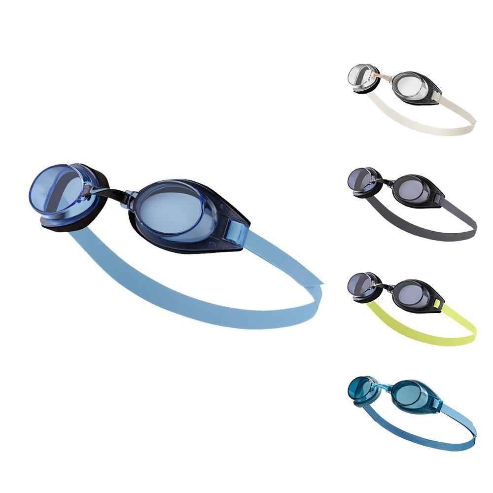 NIKE SOFT-SEAL 成人休閒型泳鏡 入門泳鏡 蛙鏡 泳鏡 泳具 防霧鏡片 TFSS0555