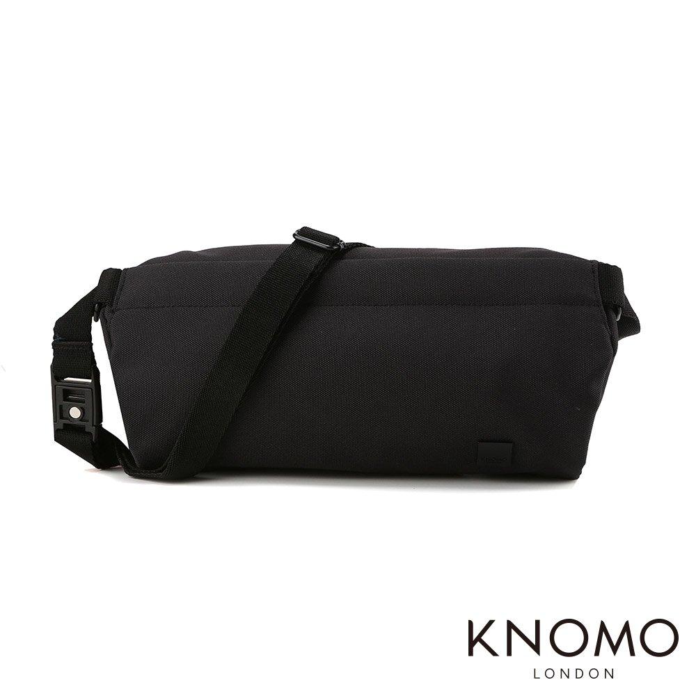 KNOMO 英國 Wimbledon Park 單肩側背包 - 黑色