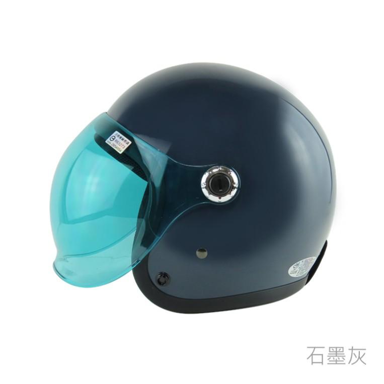 華泰 安全帽 K-805 P5 復古帽 泡泡鏡 騎士帽 石墨灰 半罩 全拆洗 比帽王