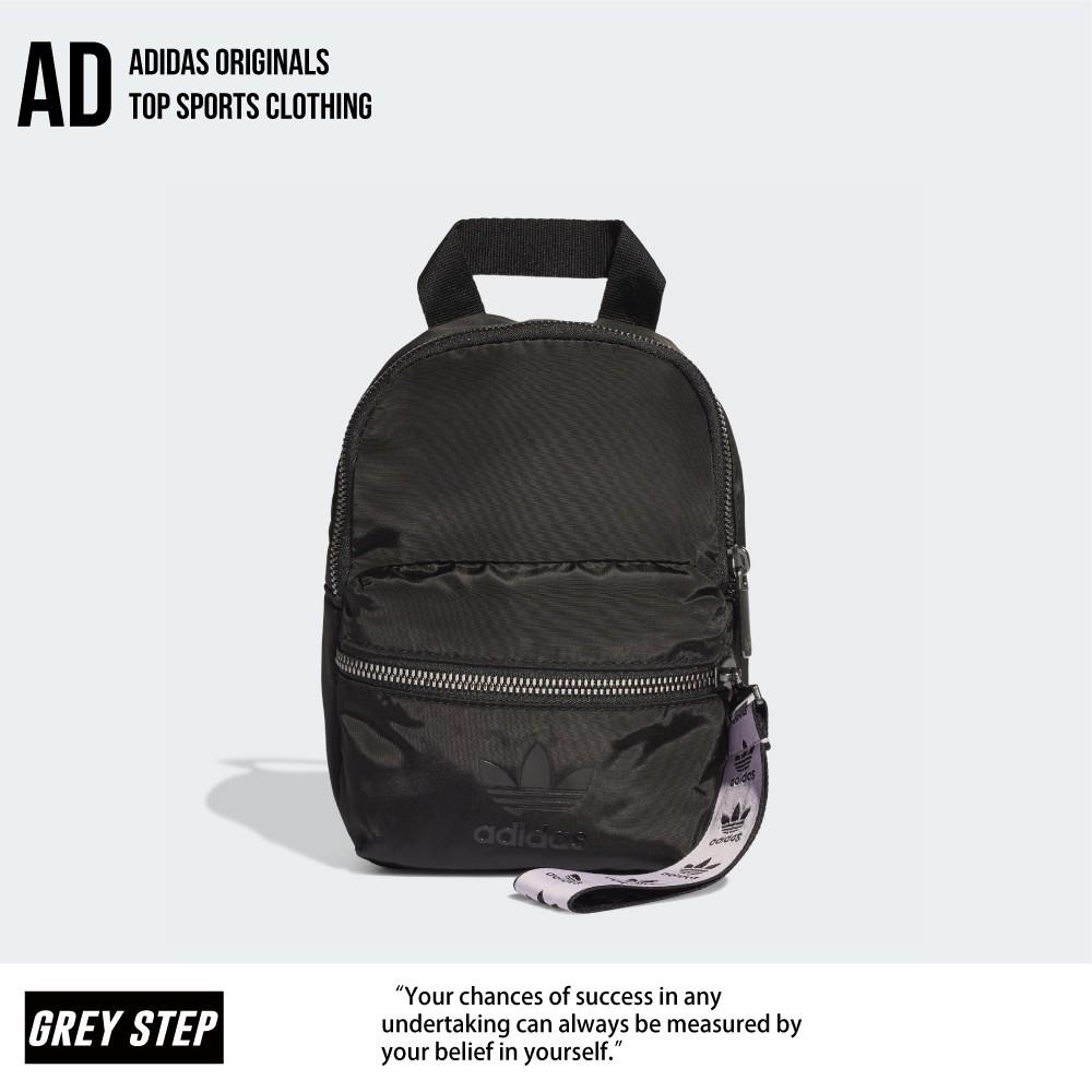 Adidas 愛迪達 三葉草 後背包 背包 女 小背包 小包 黑色 黑 FL9616全新正品 快速出貨 統一發票