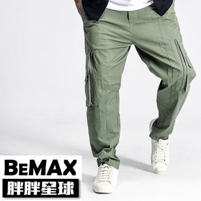 【胖胖星球】中大尺碼‧街頭潮流口袋造型長褲 2XL~5XL‧加大【108013】