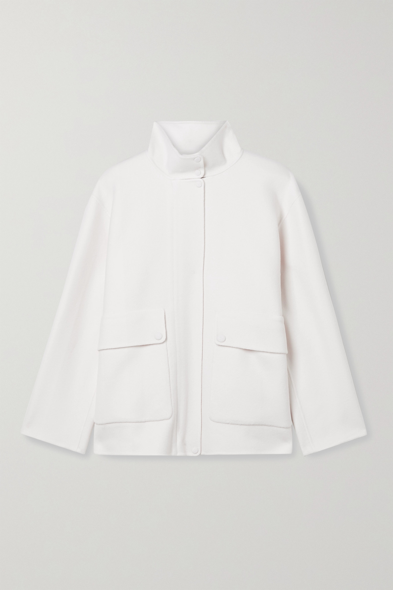 THEORY - Wool And Cashmere-blend Jacket - Ivory - x small