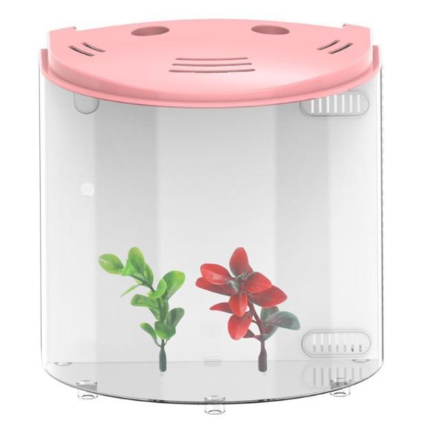 魚缸亞克力客廳水族箱生態免換水/可開超取