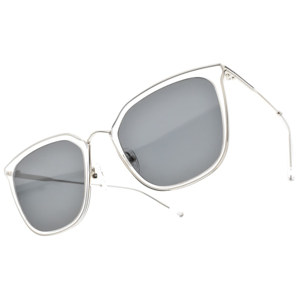 CARIN 太陽眼鏡 O'NEILL MORE C2 韓風時尚蝶形框 - 金橘眼鏡