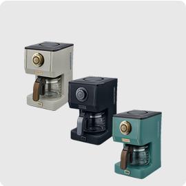 小倉家 TOFFY【K-CM5】咖啡機 LADONNA 馬卡龍 復古 3種濃度 全聯