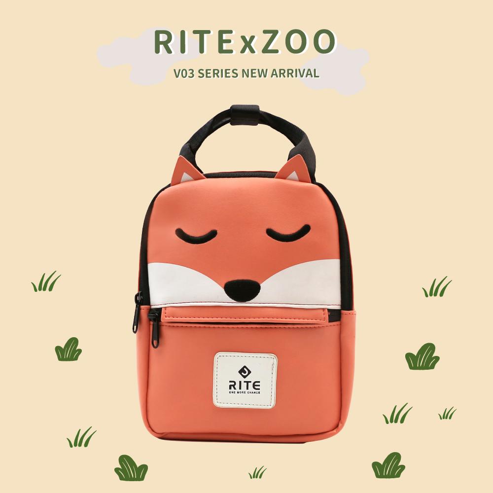 【專區任選兩件$1200】RITExZOO V3露可小包 動物園系列 沉睡狐