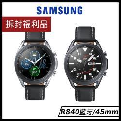 (拆封福利品)【藍芽版】Samsung 三星 Galaxy watch 3 智慧手錶 (SM-R840) -45mm